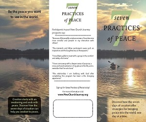"""Seven Practices of Peace"" Brochure Design Digital Download"