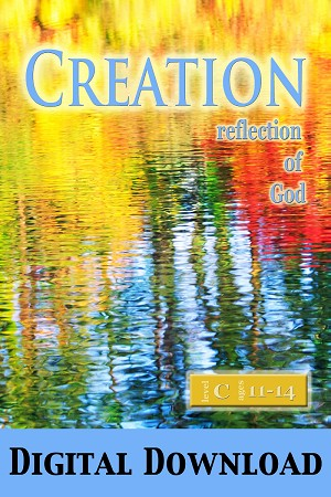 """Creation: Reflection of God"" Level C Lessons (Ages 11-14) Digital Download"