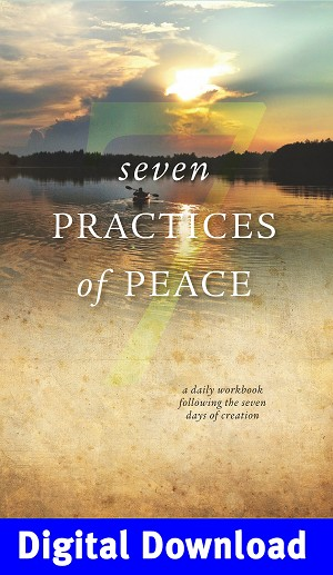 """Seven Practices of Peace"" Workbook PDF Digital Download"