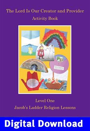"""The Lord is Our Creator"" Activity Book Digital Download"