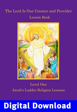 """The Lord is Our Creator"" Lesson Book Digital Download"