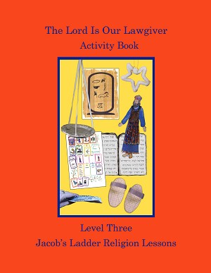 The Lord Is Our Lawgiver Activity Book