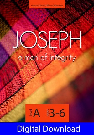 """Joseph: A Man of Integrity"" Level A Lessons (Ages 3-6) Digital Download"