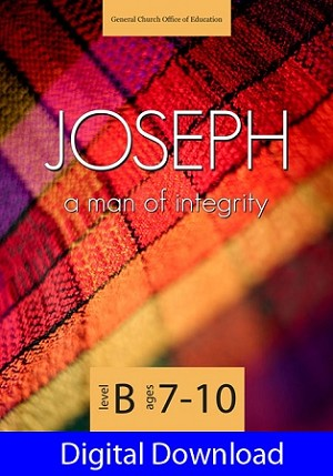 """Joseph: A Man of Integrity"" Level B Lessons (Ages 7-10) Digital Download"