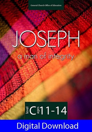 """Joseph: A Man of Integrity"" Level C Lessons (Ages 11-14) Digital Download"