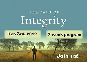 """The Path of Integrity"" Banner Design Digital Download"