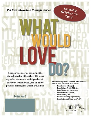 """What Would Love Do?"" Poster"